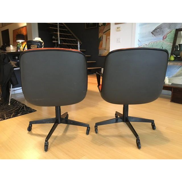 """Steelcase Rolling """"Pollack"""" Swivel Office Chairs - Image 5 of 11"""