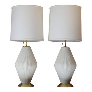 Gerald Thurston for Lightolier Ceramic Table Lamps - A Pair