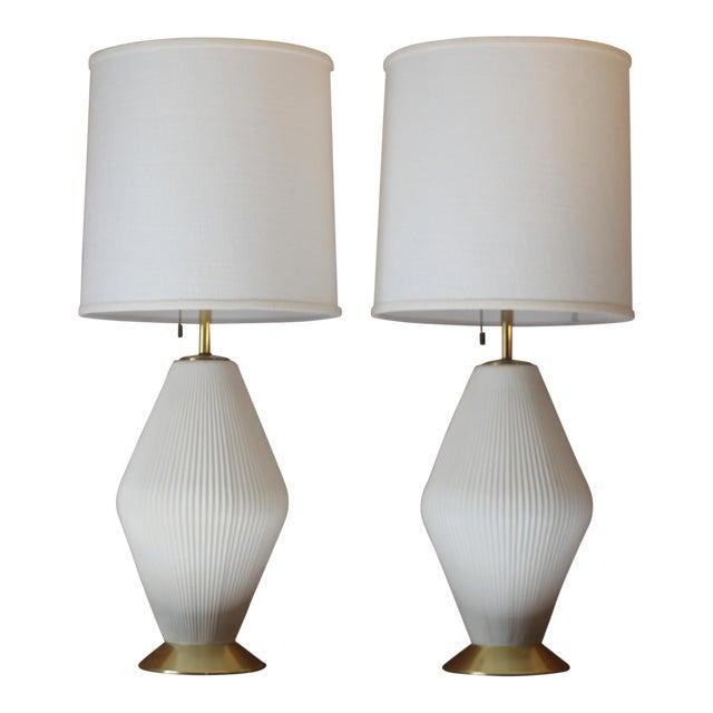 lamp teak lightolier table mid etsy il gerald fnpw market thurston lamps century modern