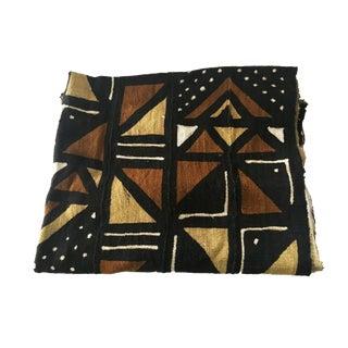 "Superb Bogolan Mali Mud Cloth Textile 40"" by 60"" For Sale"