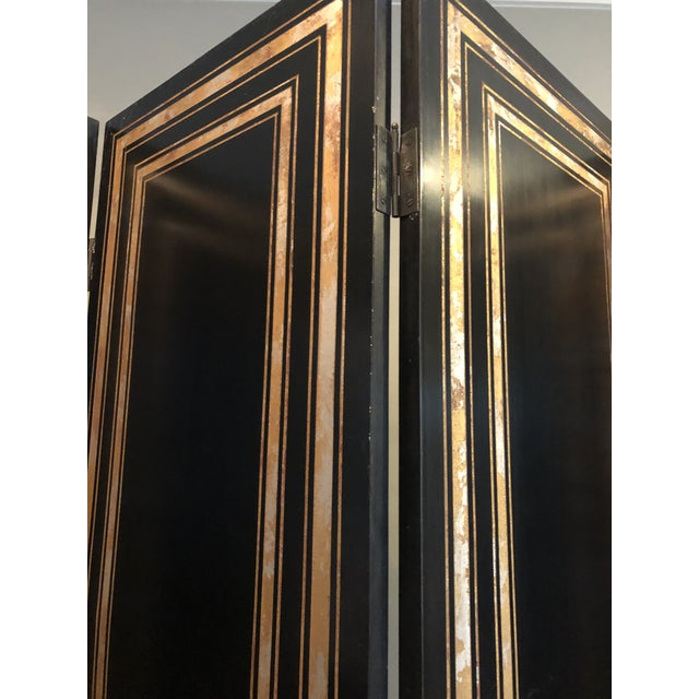 Maitland Smith Hollywood Regency Style Room Divider For Sale - Image 11 of 12