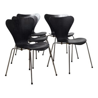 Arne Jacobsen for Fritz Hansen Chair, Series 7 - Set of 5