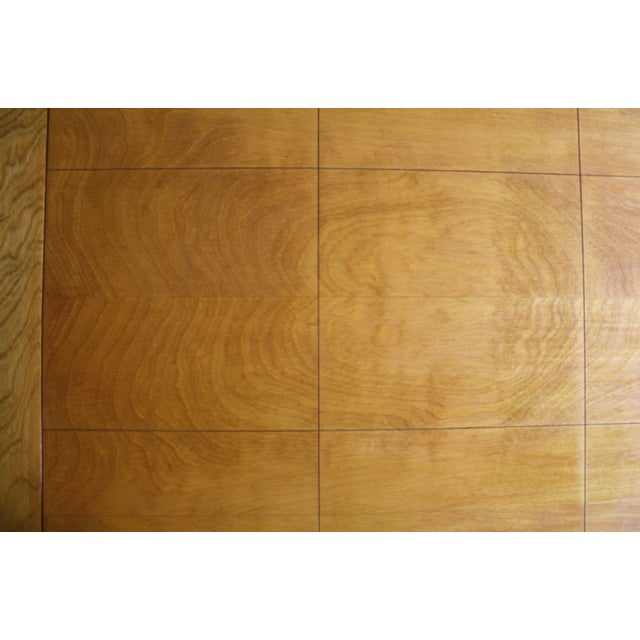Walnut Dining Table X Base, Manner of Widdicomb For Sale - Image 5 of 10