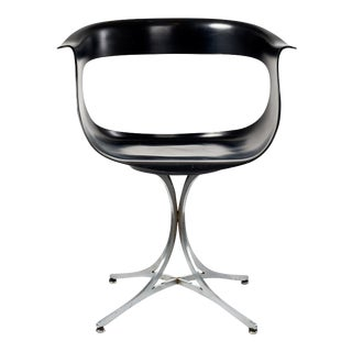 Erwine and Estelle Laverne 'Lotus' Swivel Chair model 117-LF, 1958 For Sale