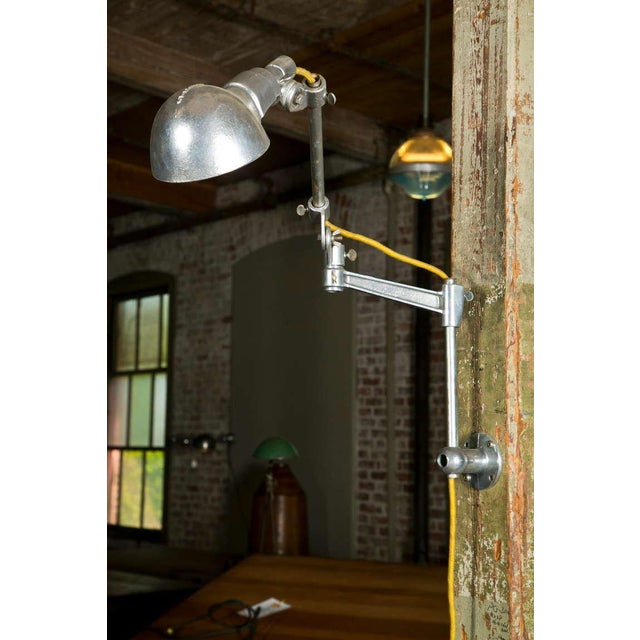 Industrial Woodward Machine Light For Sale - Image 3 of 10