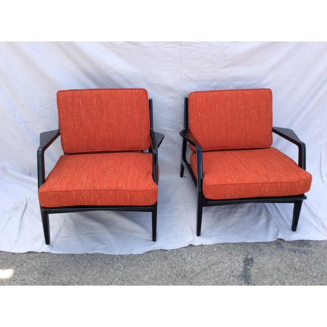 Mid Century Side Chairs - a Pair For Sale - Image 10 of 10