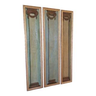 Maison Jansen Trompe Loeil Panel Set For Sale