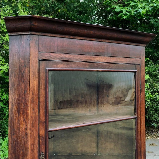 Wood 19th Century French Louis Philippe Corner Cabinet For Sale - Image 7 of 13