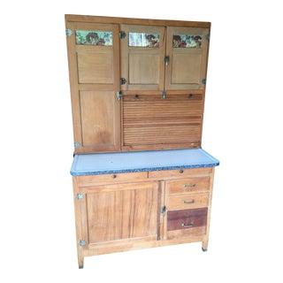 1900s Vintage McDougal Hoosier Cabinet For Sale