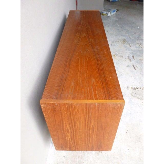 Wood 1950s Mid Century Modern Danish Koford Larsen Teak & Rosewood Credenza For Sale - Image 7 of 13