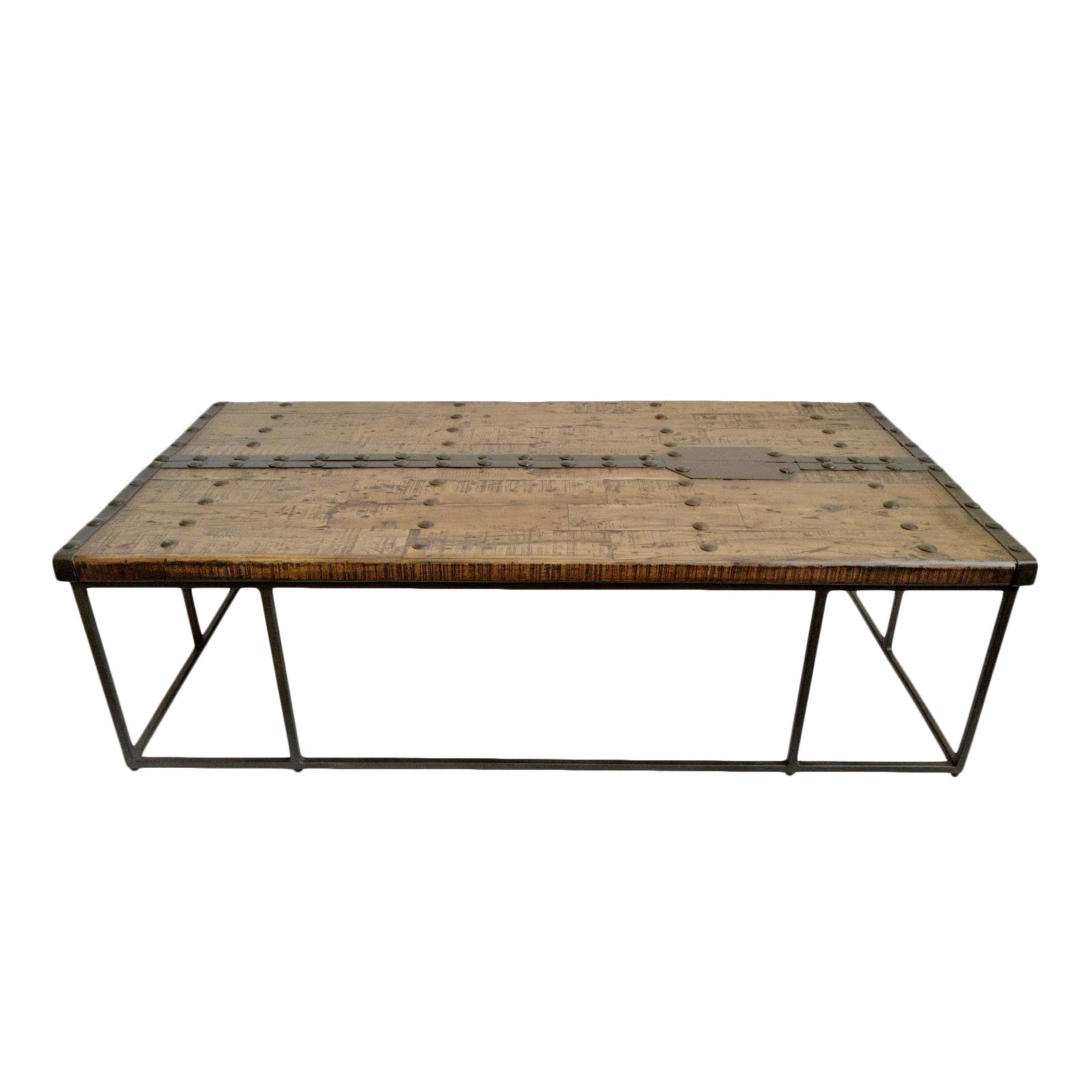 Modern Rustic Door Coffee Table Chairish
