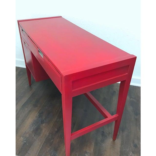 1960s Danish Modern Basic Witz Writing Desk For Sale - Image 6 of 8