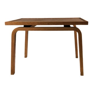 1965 Danish Modern Arne Jacobsen for Saint Catherine's College Oak Footstool For Sale