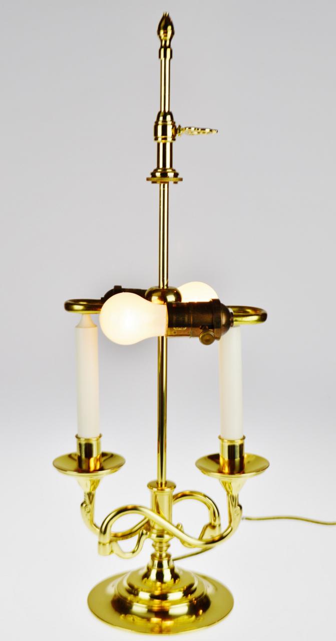 Vintage Baldwin Brass Bouillotte Style Table Lamp Chairish