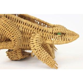 C50s Wicker Frog Garden Tool Basket W/ 6 Implements Preview
