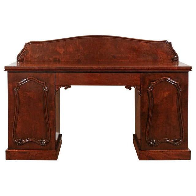 William IV Mahogany Pedestal Sideboard For Sale - Image 11 of 11