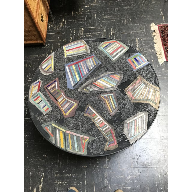 Handmade Steel and Concrete Table - Image 8 of 13