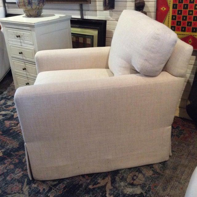 Lee Industries Lee Industries Swivel Chair Item # 5381-01sw For Sale - Image 4 of 6