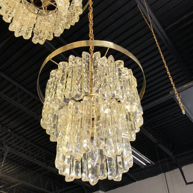 Vintage Icicle Double Pendant Light For Sale In Washington DC - Image 6 of 9