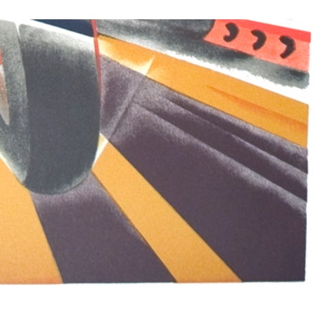 Artist: Robert Falcucci Title: Monaco Grand Prix 1931 Year: 1983 Signed: No Medium: Lithograph Paper Size: 39.5 x 26.75...
