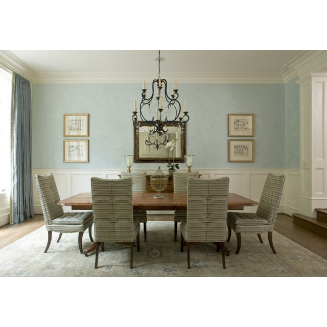 Striped R. Jones Dining Chairs - Set of 6 - Image 9 of 9