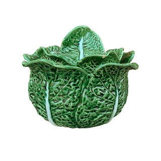 Portuguese Cabbage Soup Tureen For Sale