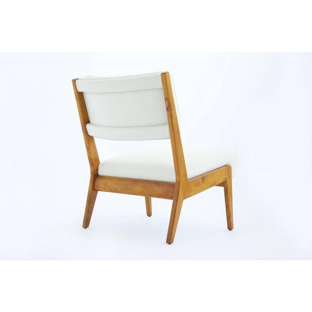 Jens Risom Design Risom Armless Lounge Chair For Sale - Image 4 of 10