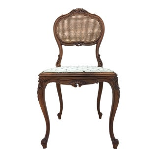 Early 19th Century Louis XV Petite-Side Chair For Sale