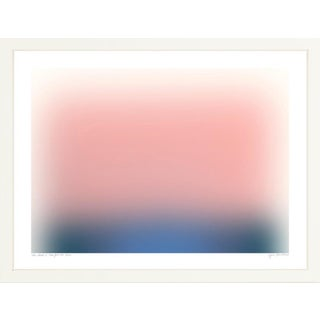 """""""Color Cloud 12"""" Contemporary Abstract Print by Jessica Poundstone, Framed For Sale"""