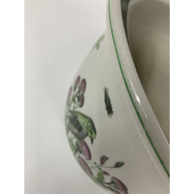 Late 20th Century Ceramic Floral Planter For Sale In New York - Image 6 of 7