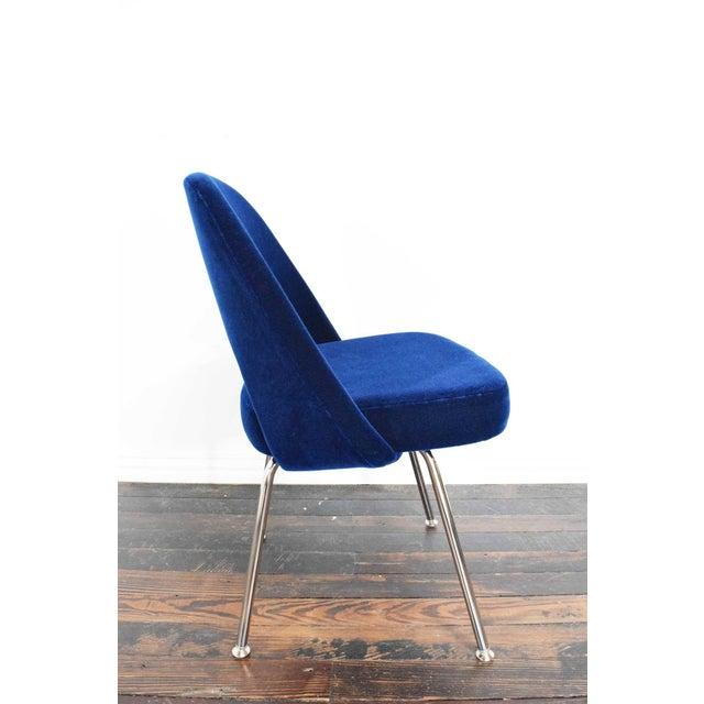 1990s Knoll Eero Saarinen Armless Executive Chair For Sale - Image 5 of 12