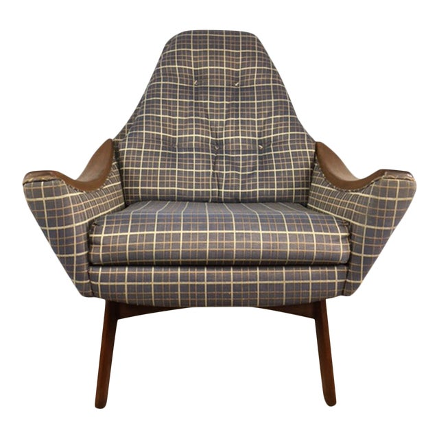 Adrian Pearsall Papa Lounge Chair - Image 1 of 9