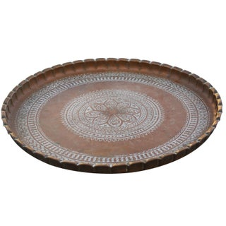 Moroccan Tray With Ornate Moorish Design Preview