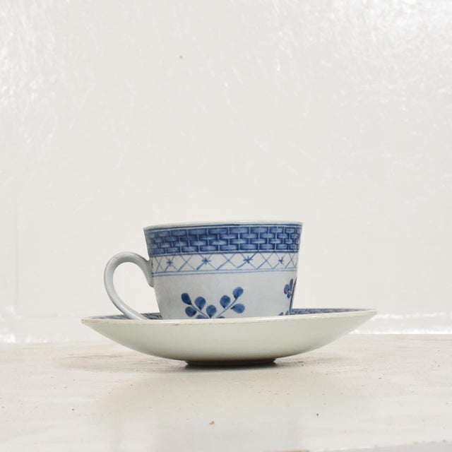 For your consideration, a Coffee Tea Cups & Plates Set for (12) Twelve Person. Beautifully decorated in royal blue, making...