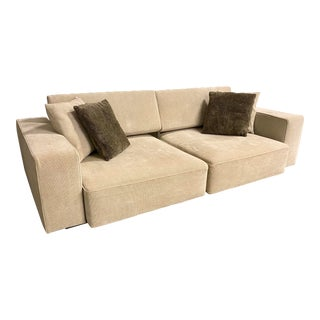 B&B Italia Paolo Piva Andy Slipcover Sofa For Sale