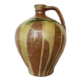 19th Century Antique Portuguese Jug For Sale