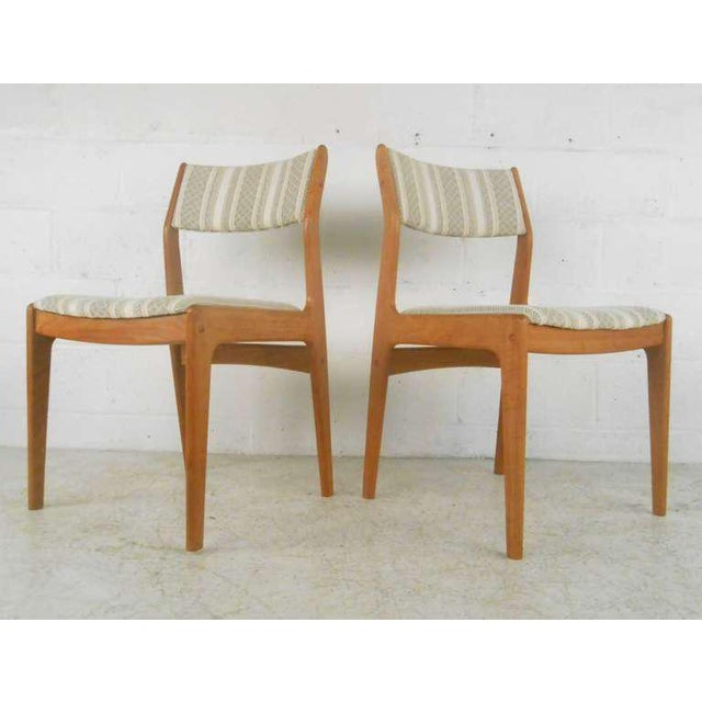 Danish Modern Dining Chairs - Set of 6 For Sale - Image 4 of 9
