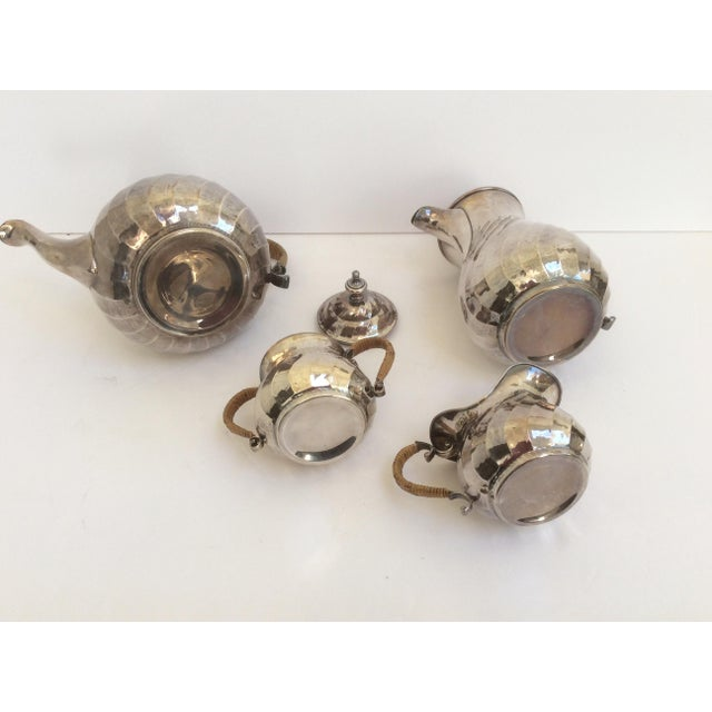 Purity Italian Silver Tea Service - Set of 4 - Image 4 of 11