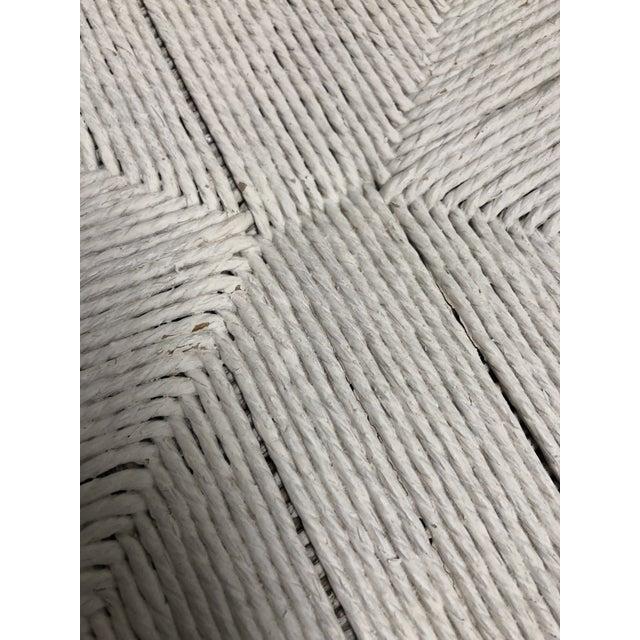 White Set of Six Mid-Century Hans Wegner Wishbone Chairs For Sale - Image 8 of 12