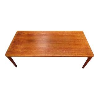 1960's Vejle Stole Teak Coffee Table For Sale