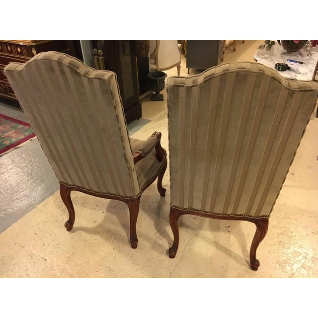 Queen Anne 1960s Harden Dining Room Chairs - Set of 10 For Sale - Image 3 of 10