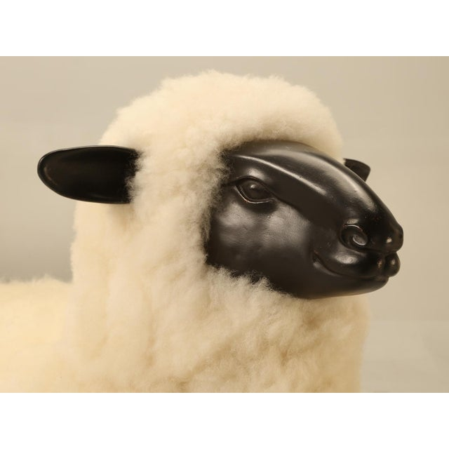 Baby Lamb Hand Made by Old Plank Collection For Sale - Image 4 of 11