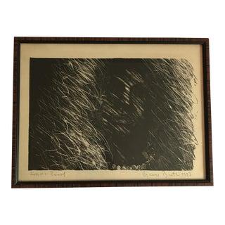 Vintage Signed Black & White Artist's Proof For Sale