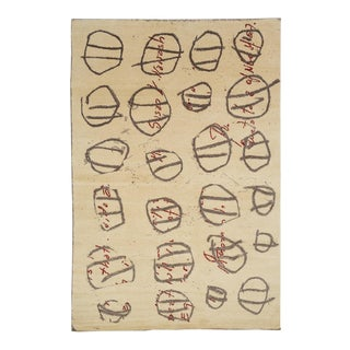Contemporary Timothy Paul Myers Art Rug - 6′ × 9′ For Sale