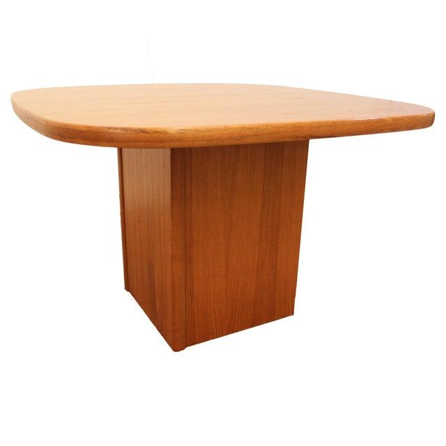 Mid-Century Danish Modern Mobler Teak Side Table - Image 1 of 10