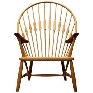 Hans Wegner Peacock Chair, Made by Johannes Hansen, 1950s, Denmark For Sale
