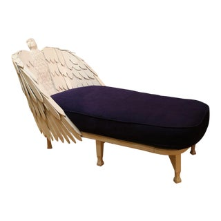 Antique Eagle Chaise Lounge For Sale