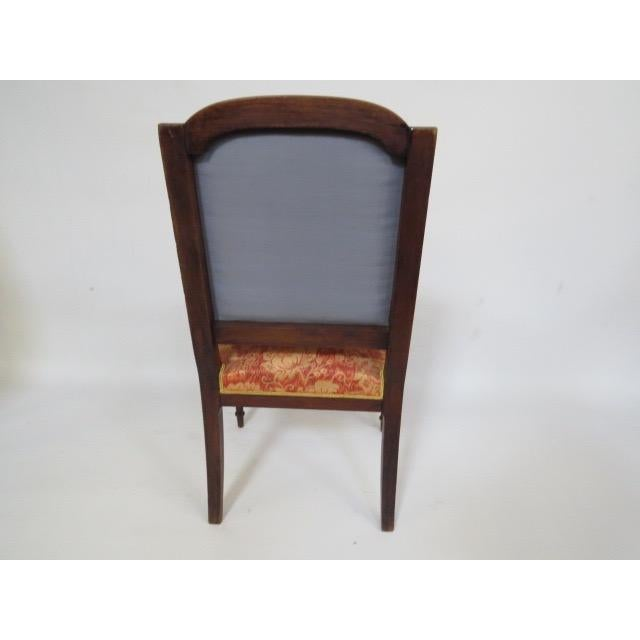 Brown 1900's Louis XVI Chair For Sale - Image 8 of 8