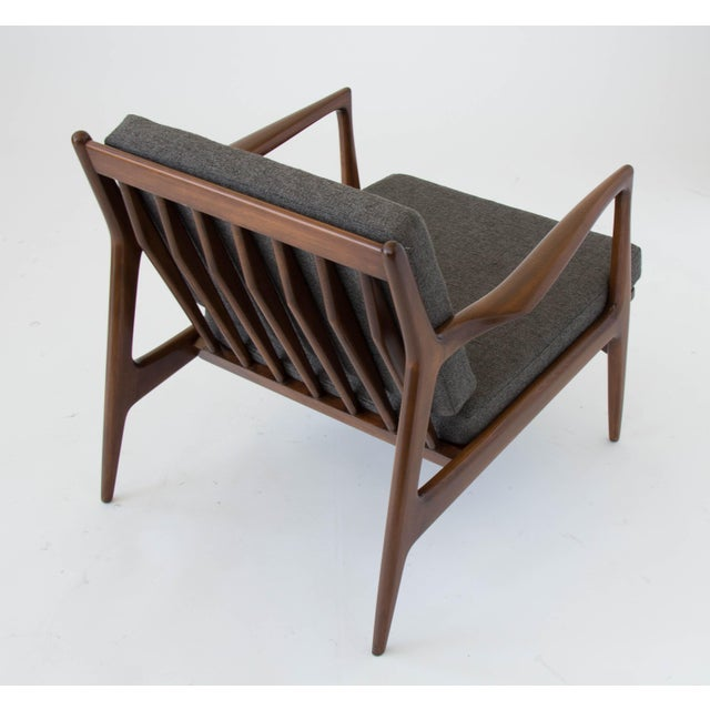 Ib Kofod-Larsen for Selig Lounge Chair For Sale - Image 9 of 11