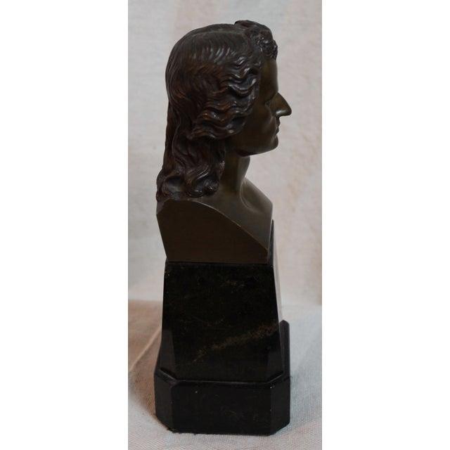 Vintage Schiller Bust For Sale - Image 4 of 7